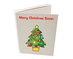 Christmas Cookie Card - Free UK Delivery