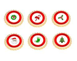 Christmas Icon Cookies