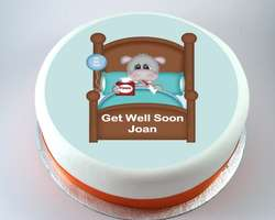 Get Well Hippo Cake