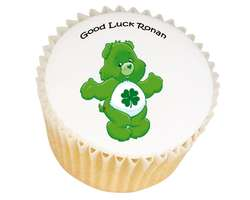 Good Luck Bear Cupcakes