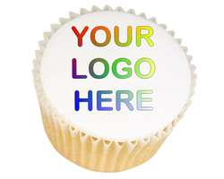Logo Cupcakes - from £11.95