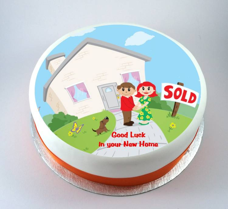 New Home Cake Kiss Cakes