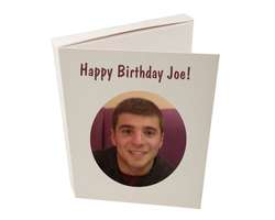 Photo Cookie Card - Free UK Delivery