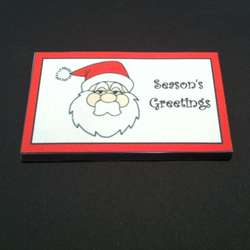 Small Personalised Xmas Chocolate Bar