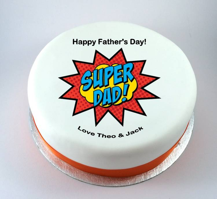 Super Dad Cake From 9 95