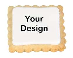 Your Design Place Card Cookies