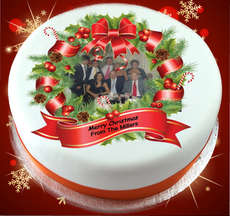 Personalised Christmas Cakes Cookies And Gifts Corporate Christmas